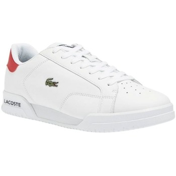Chaussures Baskets basses Lacoste TWIN SERVE 0721 1 SMA WHT/NVY/RED