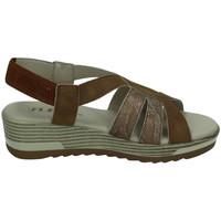 Chaussures Femme Sandales et Nu-pieds Flex Pies  Marron