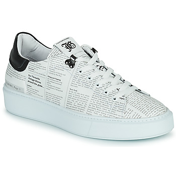 Chaussures Homme Baskets basses John Galliano MAGDALENO Blanc