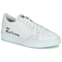 Chaussures Homme Baskets basses John Galliano MISSISSIPPI Blanc