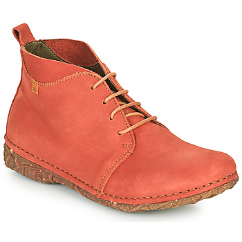 Chaussures Femme Boots El Naturalista ANGKOR Rouge