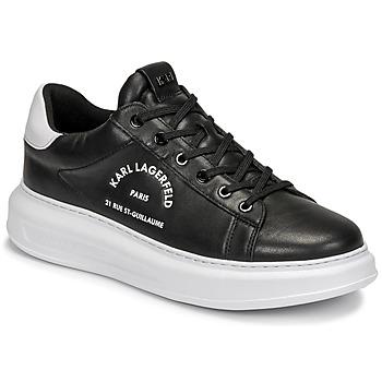 Chaussures Homme Baskets basses Karl Lagerfeld KAPRI MENS MAISON KARL LACE Noir