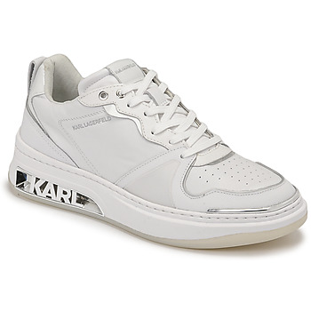 Chaussures Femme Baskets basses Karl Lagerfeld ELEKTRA LAY UP LO Blanc
