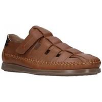 Chaussures Homme Sandales et Nu-pieds Dj Santa 2977 Hombre Cuero marron