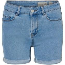 Vêtements Femme Shorts / Bermudas Vero Moda Short en denim Taille : F Ciel XS Ciel