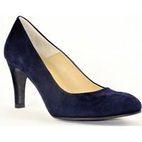 Chaussures Femme Escarpins Perlato 7304 VELOURS BLEU