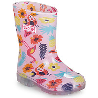 Chaussures Fille Bottes de pluie Be Only JANEIRO Rose