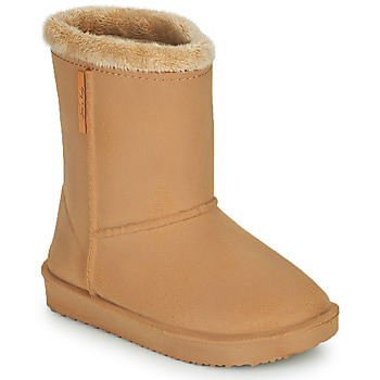 Chaussures Fille Bottes de pluie Be Only COSY Beige