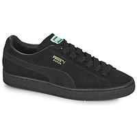 Chaussures Baskets basses Puma SUEDE Noir