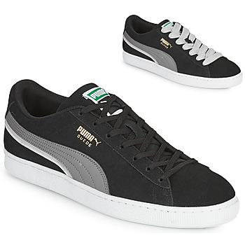 Chaussures Homme Baskets basses Puma SUEDE TRIPLEX Noir / Gris