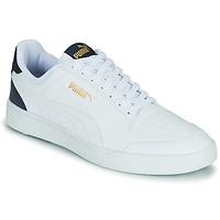 Chaussures Homme Baskets basses Puma SHUFFLE Blanc / Bleu