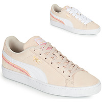 Chaussures Femme Baskets basses Puma SUEDE TRIPLEX Rose / Blanc