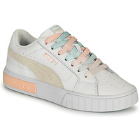 Chaussures Femme Baskets basses Puma CALI STAR Blanc / Multicolore