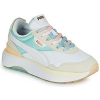 Chaussures Femme Baskets basses Puma CRUISE RIDER Blanc / Multicolore