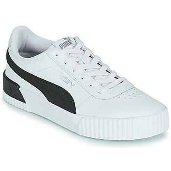 Chaussures Baskets basses Puma CARINA - Livraison Gratuite | Spartoo