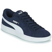 Chaussures Garçon Baskets basses Puma SMASH JR Bleu