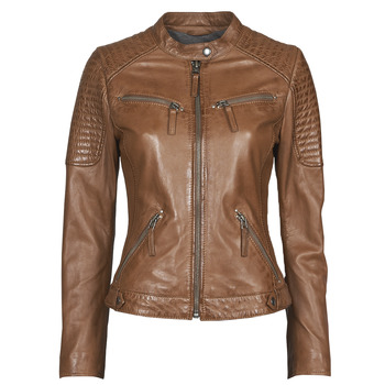 Vêtements Femme Vestes en cuir / synthétiques Oakwood HILLS6 Cognac