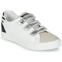 Chaussures Femme Baskets basses Le Temps des Cerises VIC Blanc / Argenté