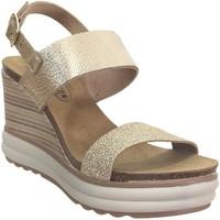 Chaussures Femme Sandales et Nu-pieds Plakton Plaka Platine cuir