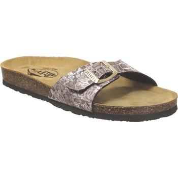 Chaussures Femme Claquettes Plakton Bom Marron clair