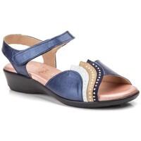 Chaussures Femme Sandales et Nu-pieds Cbp - Conbuenpie  Bleu