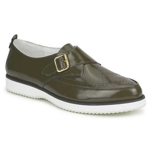 Chaussures Femme Mocassins McQ Alexander McQueen 308658 Vert