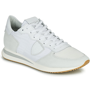 Chaussures Homme Baskets basses Philippe Model TRPX LOW BASIC Blanc