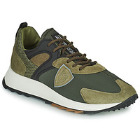 Chaussures Homme Baskets basses Philippe Model ROYALE LOW MAN Kaki