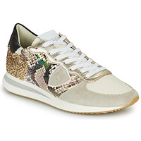 Chaussures Femme Baskets basses Philippe Model TRPX LOW WOMAN Multicolore