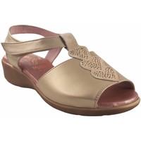 Chaussures Femme Sandales et Nu-pieds Duendy Pieds délicats lady  318 platine Argenté