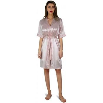 Vêtements Femme Pyjamas / Chemises de nuit Kebello Ensemble Kimono en satin Taille : F Fushia S Fushia