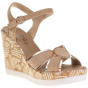 Chaussures Femme Lauren Ralph Lau Repo 52239 Beige