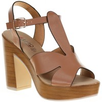 Chaussures Femme Lauren Ralph Lau Repo 56247 Taupe