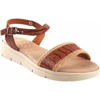 Chaussures Femme Sandales et Nu-pieds Duendy femme  3206 cuir Marron