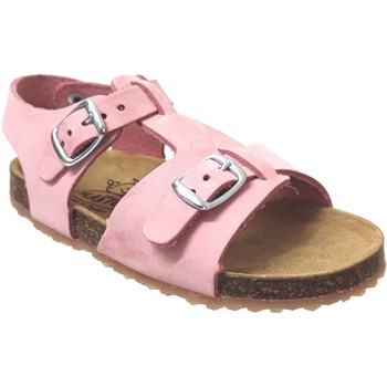 Chaussures Fille Sandales et Nu-pieds Plakton Ponette Rose nubuck