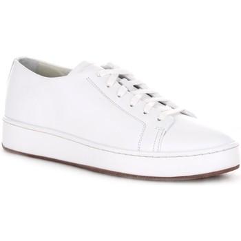 Chaussures Homme Baskets basses Santoni MBCU21405MIAGUDEI20 blanc
