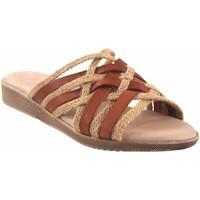 Chaussures Femme Mules Duendy femme  3246 cuir Marron