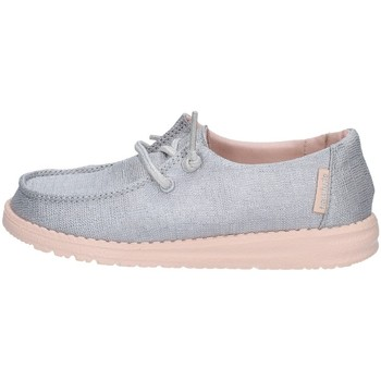 Chaussures Fille Baskets basses Dude WENDY YOUTH BASKETS enfant Argenté