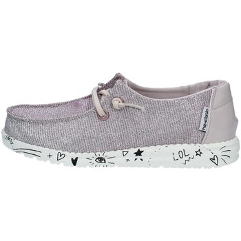 Chaussures Fille Baskets basses Dude WENDY YOUTH BASKETS enfant Rose