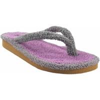Chaussures Femme Tongs Berevere maison Lady  V 9301 gris Gris