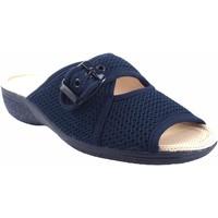 Chaussures Femme Sandales et Nu-pieds Berevere Pieds délicats lady  v 6075 bleu Bleu