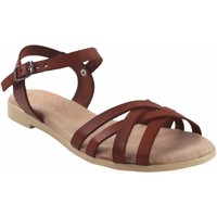 Chaussures Femme Sandales et Nu-pieds Duendy femme  3265 cuir Marron
