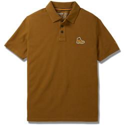 Vêtements Homme Polos manches courtes Timberland Logo bottine Marron