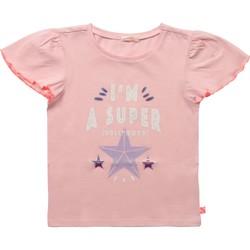 Vêtements Fille T-shirts manches courtes Billieblush / Billybandit U15866 ROSE