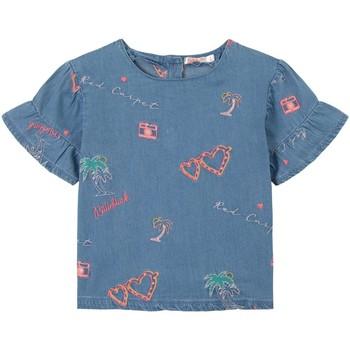 Vêtements Fille Tops / Blouses Billieblush / Billybandit U15846 BLEU