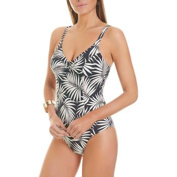 Vêtements Femme Maillots de bain 1 pièce Selmark Maillot de bain 1 pièce classique Crucero  Mare Noir-blanc