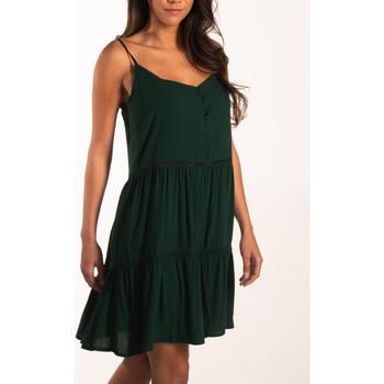 Vêtements Femme Robes courtes Beachlife Robe estivale fines bretelles Beachwear Vert