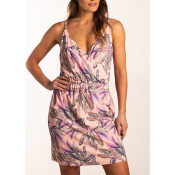 Vêtements Femme Robes courtes Beachlife Robe estivale croisée fines bretelles Beachwear Imprimé
