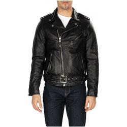 Vêtements Homme Vestes en cuir / synthétiques Schott LEATHER JACKET black