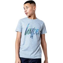 Vêtements Enfant T-shirts manches courtes Hype  Gris